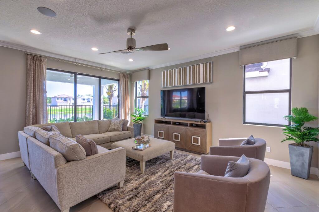 Mesa Living Room HDR
