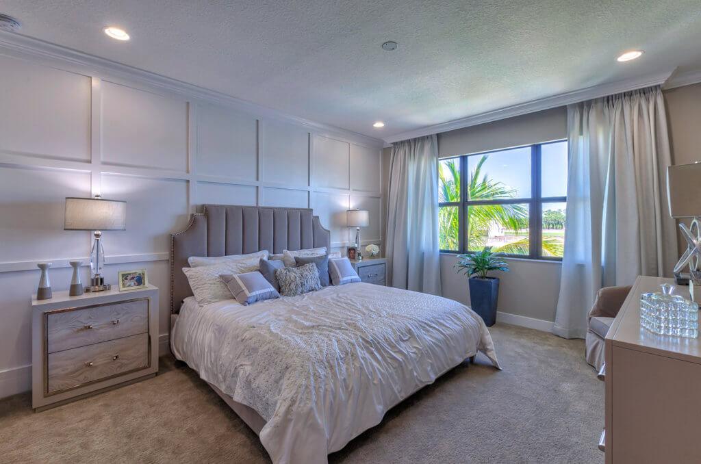 Mesa Upstairs Master Bedroom HDR