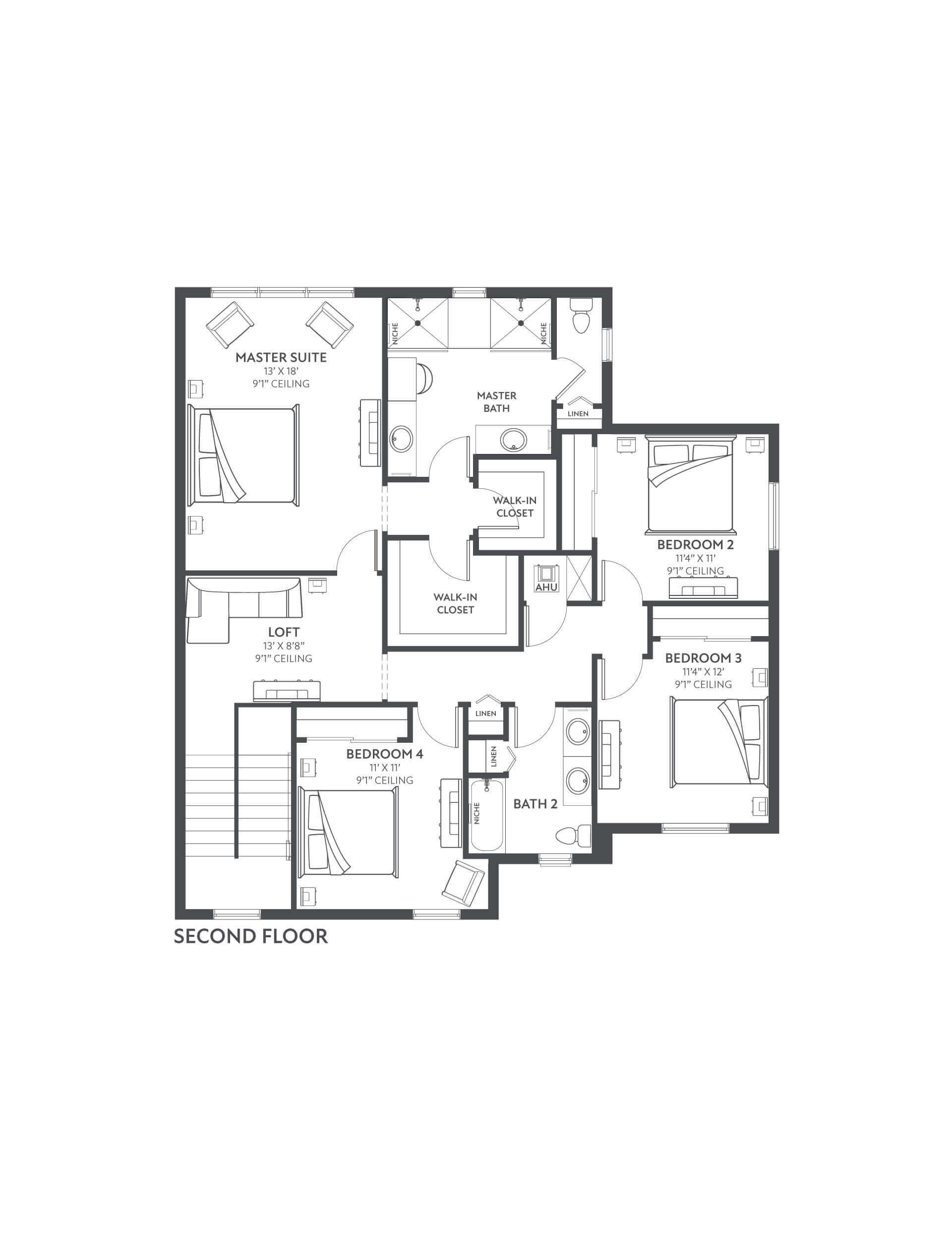 Floor 2 Floorplan