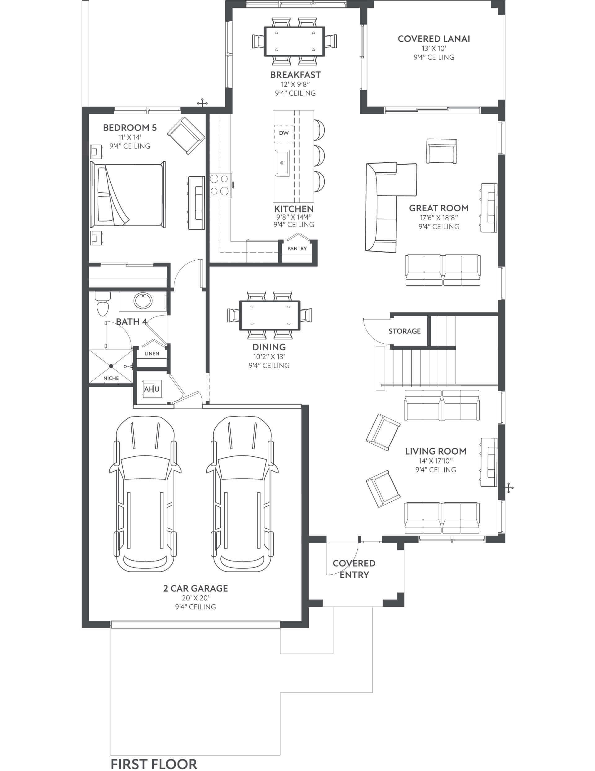 Floor 1 Floorplan