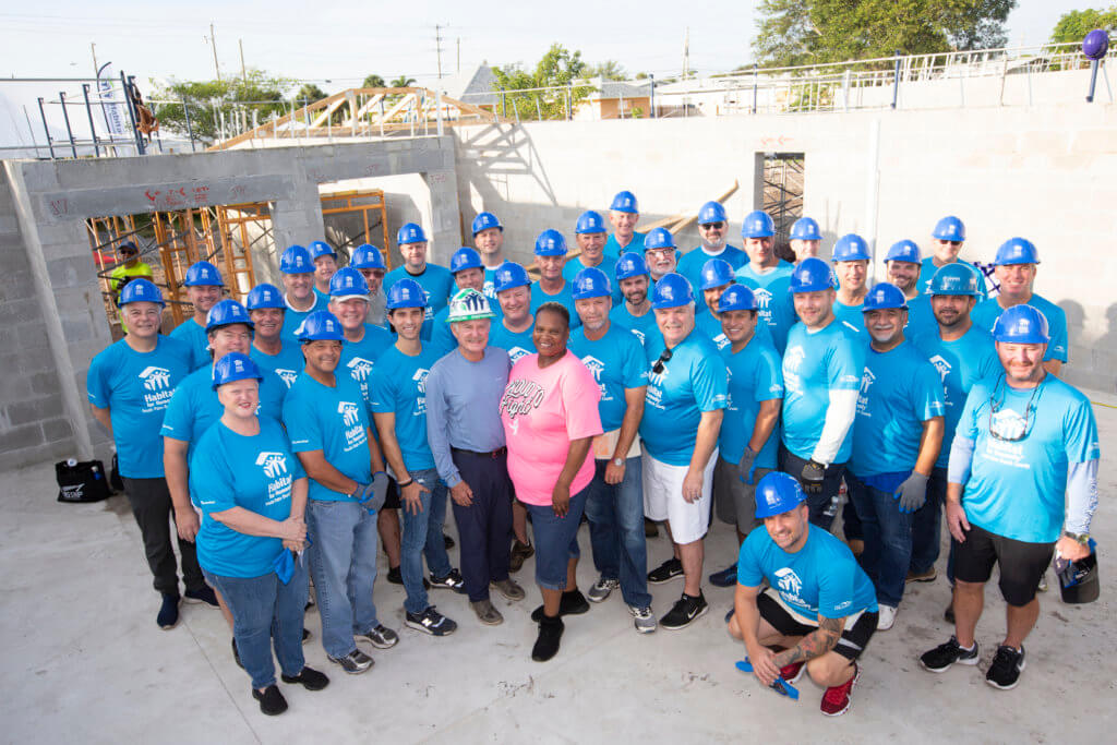 Habitat For Humanity's 2019 CEO BUILD